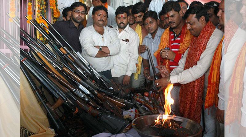 Bajrang Dal men get arms training 'to   save Hindus'