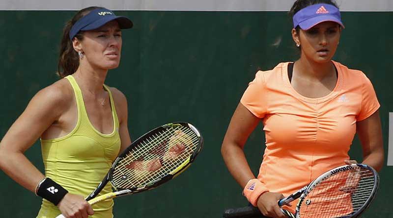 Sania Mirza-Martina Hingis Slam dream ends in Paris