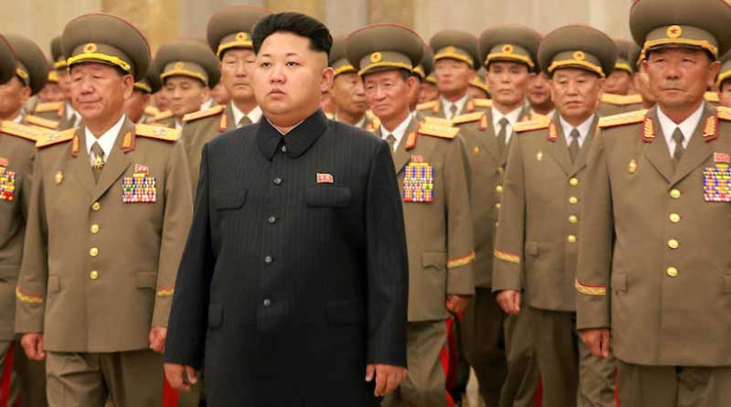 Dictator Kim Jong Un holds Guam missile attack