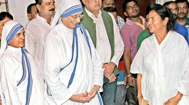 Mamata Banerjee to go to Rome for Teresa's sainthood