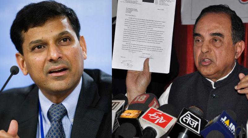 Raghuram Rajan 'mentally not fully Indian', sack him, Subramanian Swamy writes to PM Modi