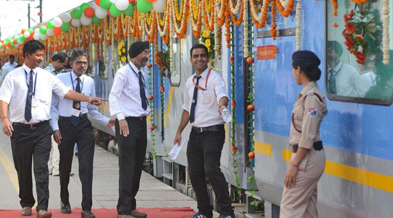 Now, railway staff will don uniforms designed by Ritu Beri
