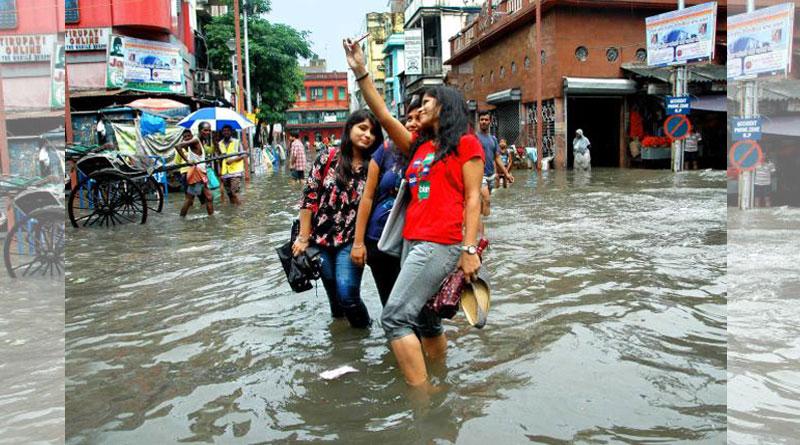 Kolkata receives rain yet again, more showers likely