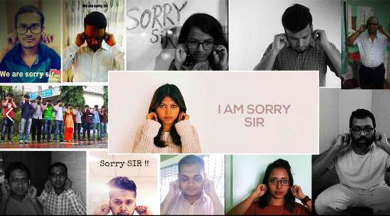 'Sorry Sir' - show of support for headmaster goes viral