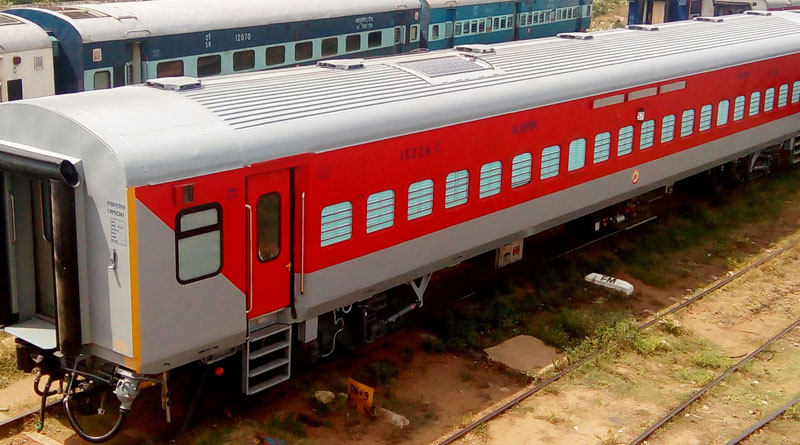 Railway all set for the Trail run of its First Solar Train in India