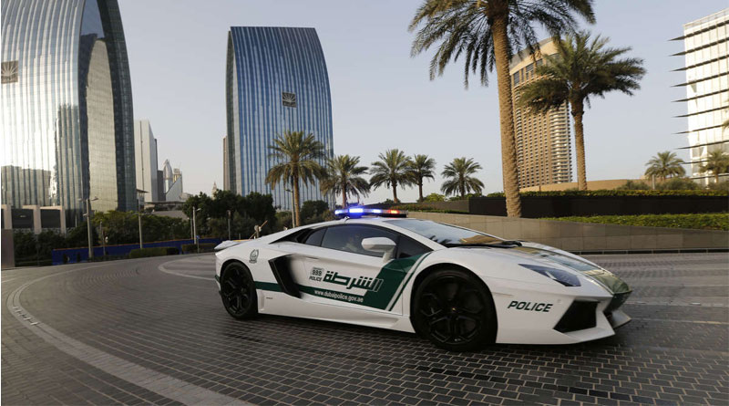 Complete list of exotic cars in Dubai Police 's garage