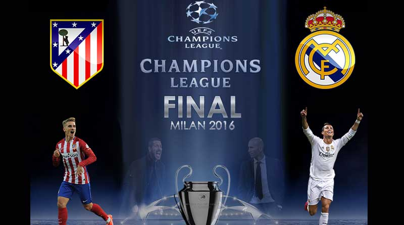 Real Madrid v Atletico Madrid - champions league preview