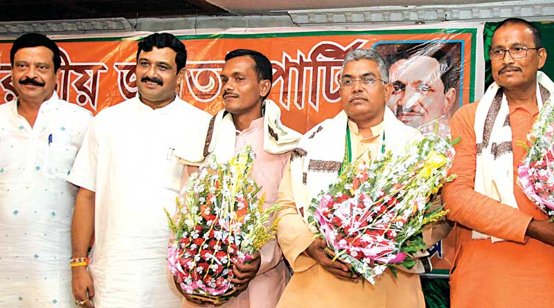 bjp's dilip warns the ruling party
