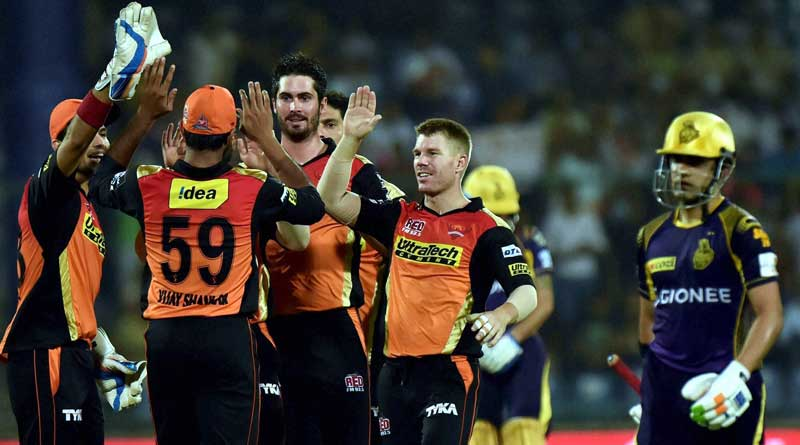 KKR lost to SRH by 22 runs
