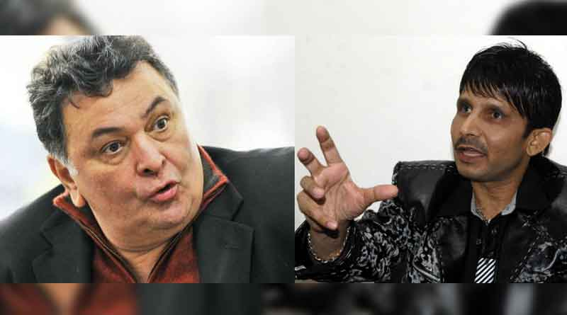 Rishi Kapoor Lashes out at Gandhi Clan, says 'Baap Ka Maal Smajh Rakha Hai?,' KRK Abuses Back on Twiiter