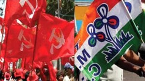 Clashes between TMC and CPM in Jamuria ।Sangbad Pratidin