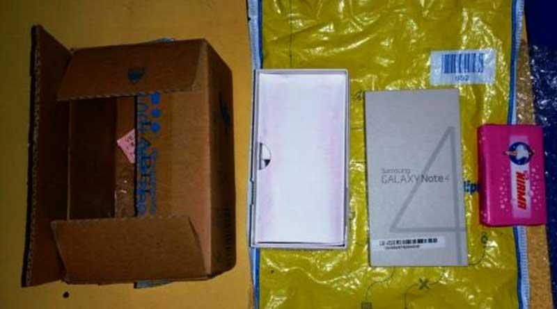 Flipkart delivers soap instead of Samsung Smartphone