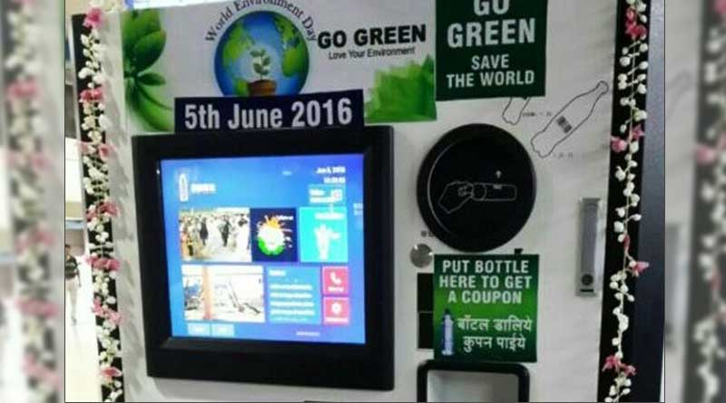 Soon, you can recycle water bottles at Rail Stations, get coupons
