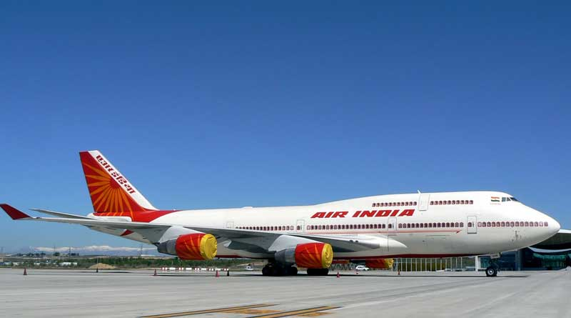 Air India Decides to discontinue flights from andal airport tio Delhi
