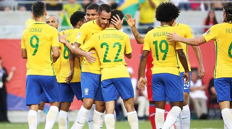 Brazil beat Haiti in Copa by 7-1