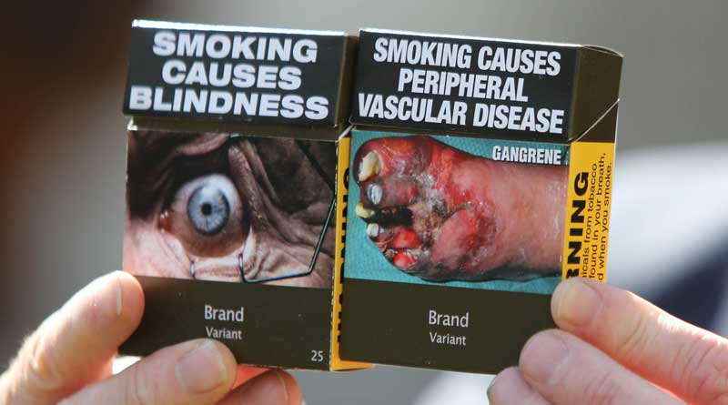 Cigarette-pack warnings work better with photos