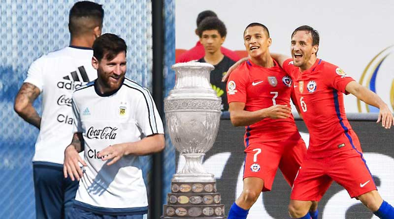 Argentina desperate to end trophy itch as they face a Chile in copa final
