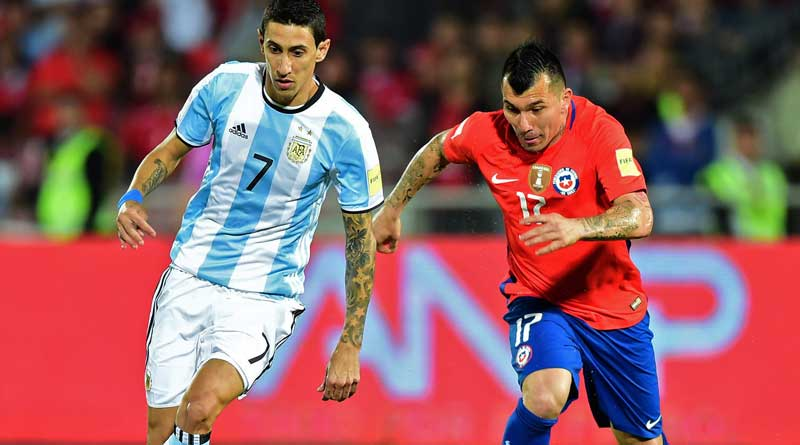 Messi less argentina thrashed chile in copa clash