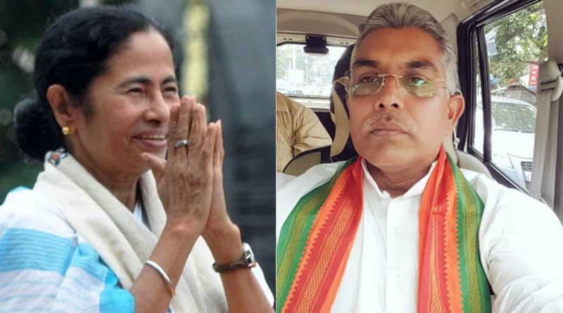 Dilip Ghosh slams Mamata over 'Banglar Gorbo Mamata'