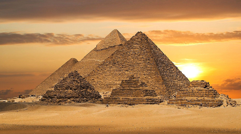 Great Pyramid of Giza is slightly lopsided