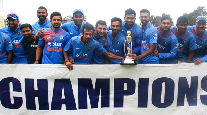 team india won the t20 series against zimbabwe