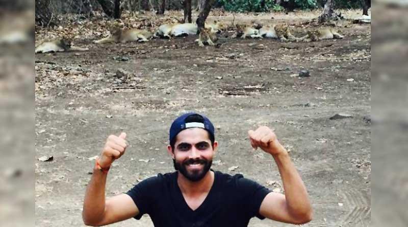 Ravindra Jadeja records statement in Lion selfie controversy at Gir