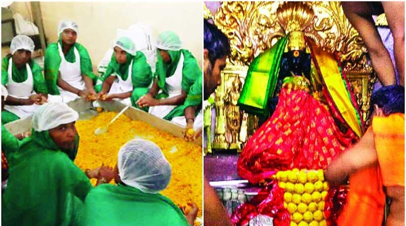 In a first, Kolhapur's Mahalaxmi prasad being made by prison inmates