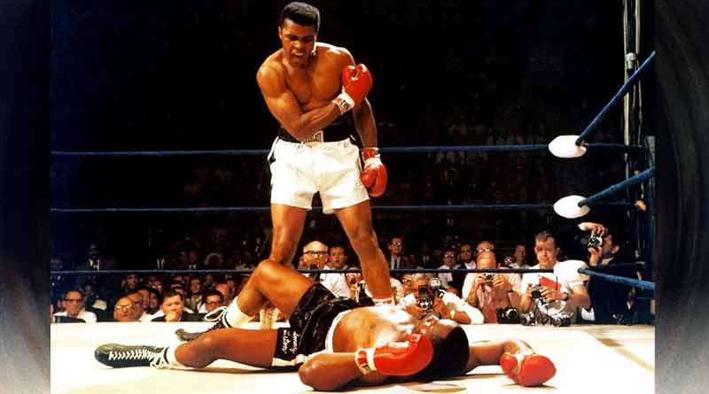 tweets and respect for Muhammed Ali