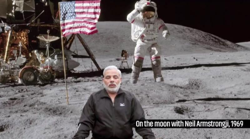 Watch: Hilarious video superimposes PM Narendra Modi on iconic photos