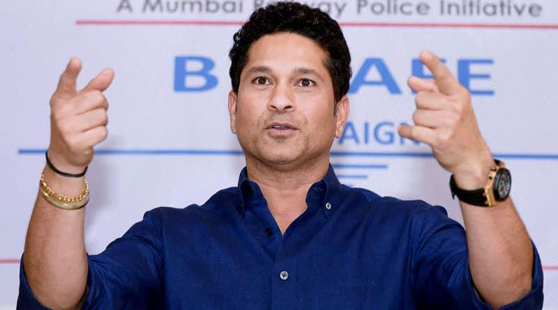 Sachin Tendulkar urges all big companies to start employing sportspersons