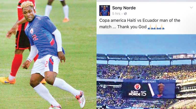 ecuador beat haiti by 4-0 in Copa100