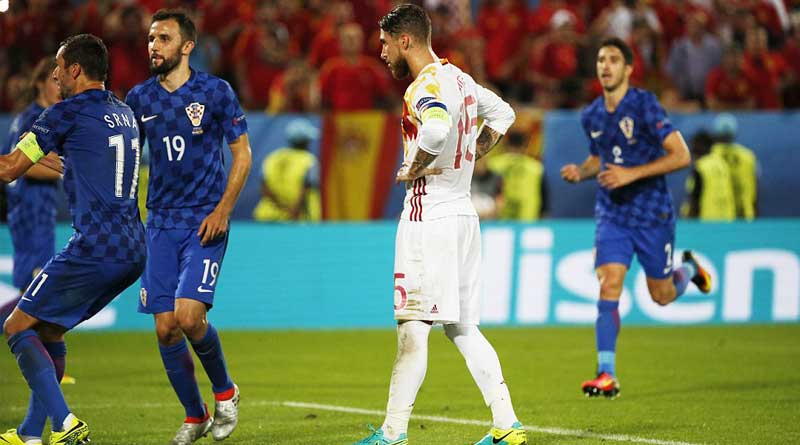 Euro 2016: Croatia 2-1 Spain