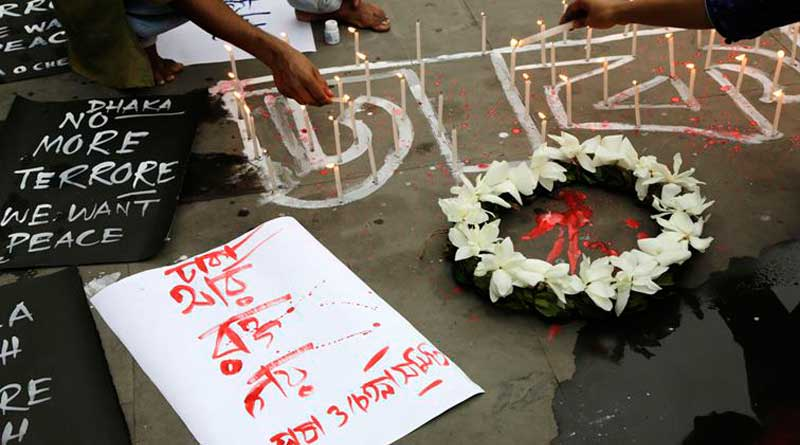 Professor, 2 others arrested over links to Dhaka terror attack