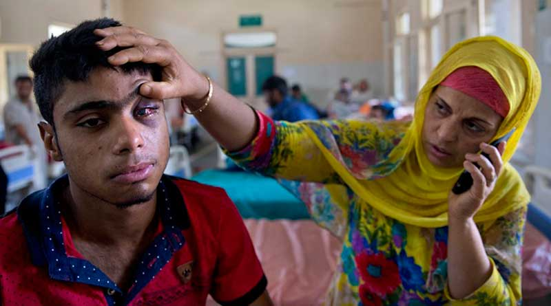 Kashmir protests: New  kind of pellets causing more damage than before