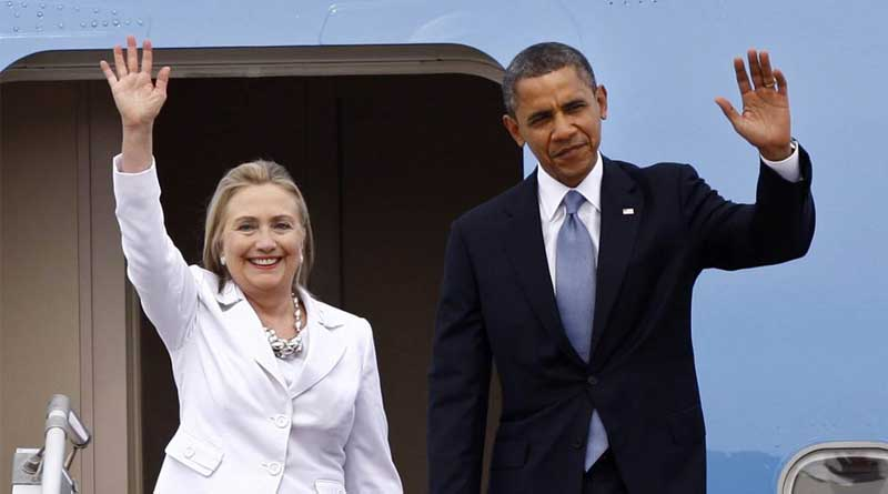'There's never been a more qualified candidate to be US President than Hillary Clinton', Obama says