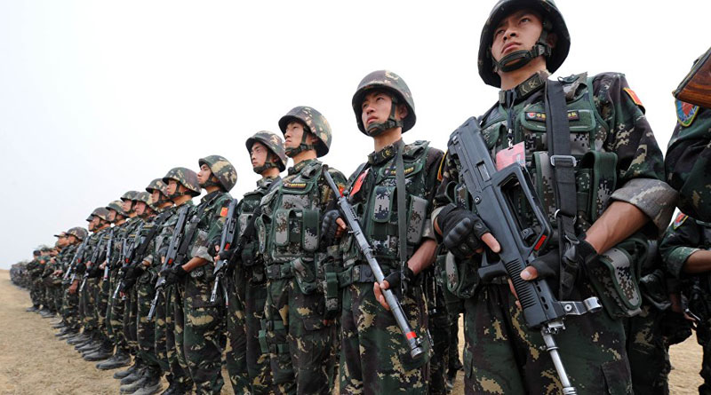 China trains 23 lakhs army for war