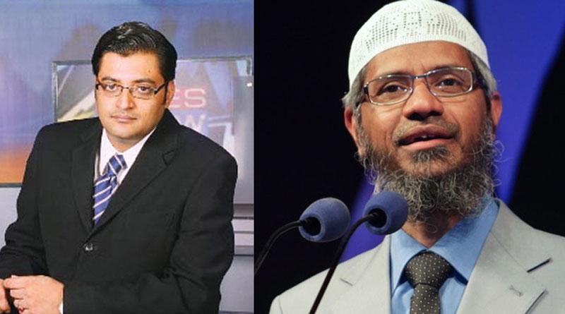 Zakir Naik issues Rs 500 crore defamation notice to Arnab Goswami