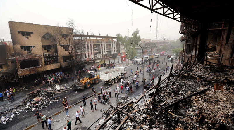 Iraq Declares Three Days Of National Mourning As Baghdad Bombing Toll Rises To 125