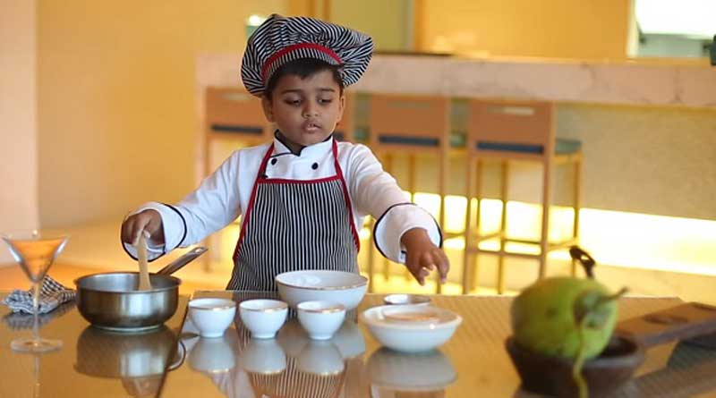 This six-year-old from Kochi is the most adorable Indian chef in web