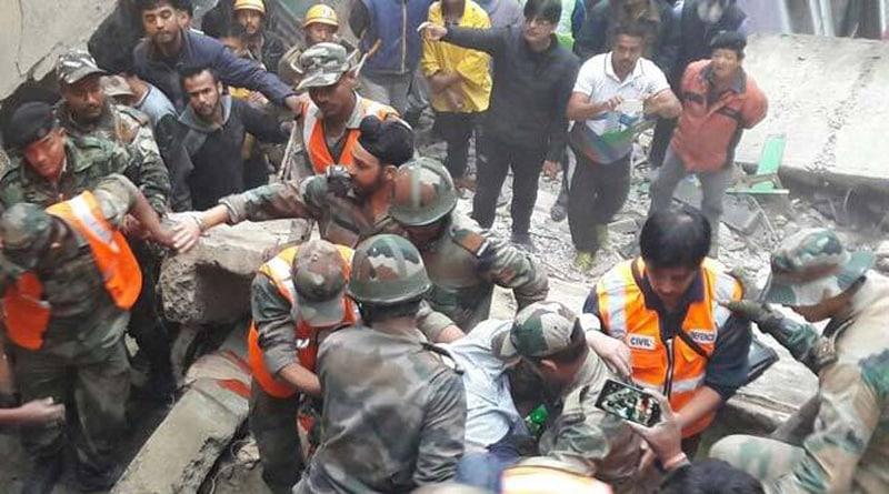 7 Killed In Building Collapse In Darjeeling