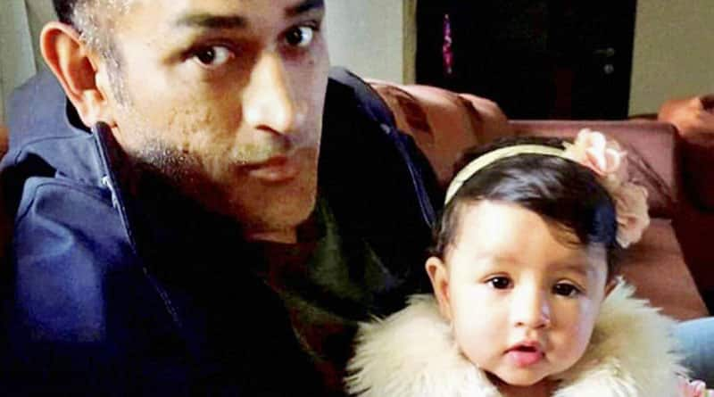 MS Dhoni posts adorable video of crawling with daughter Ziva
