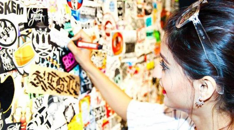 This graffiti artist is putting Delhi on Berlin's street in form of art