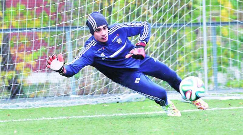 Gurpreet Singh Sandhu Playing in Europa League