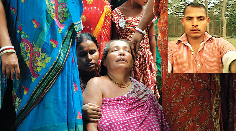Son killed by maoist, family Shattered