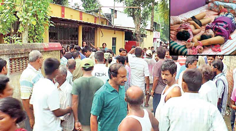 Businessman strangles wife and daughter to death, hang himself