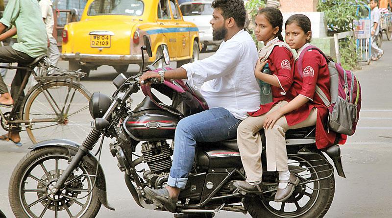 Helmet regulations has started in school