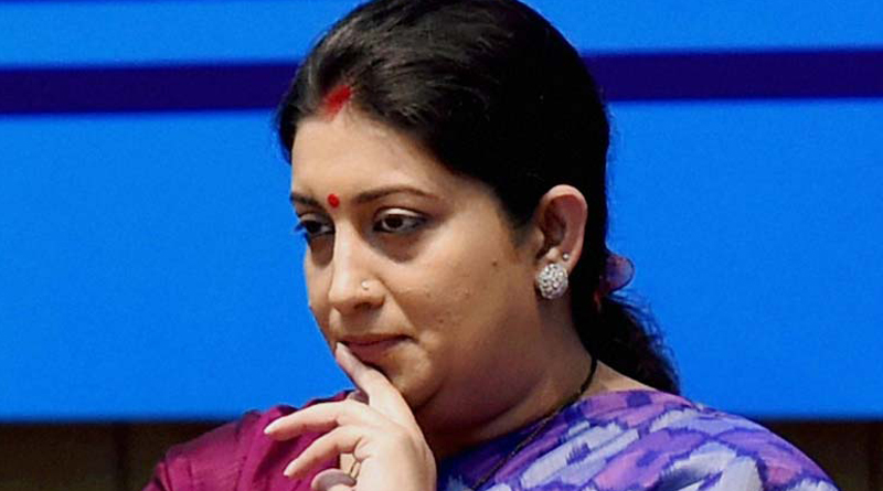 smriti irani is out of cabinet committee