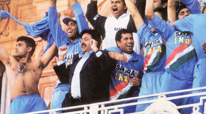 Sourav Ganguly's 'shirt-waving' act at NatWest final 2002
