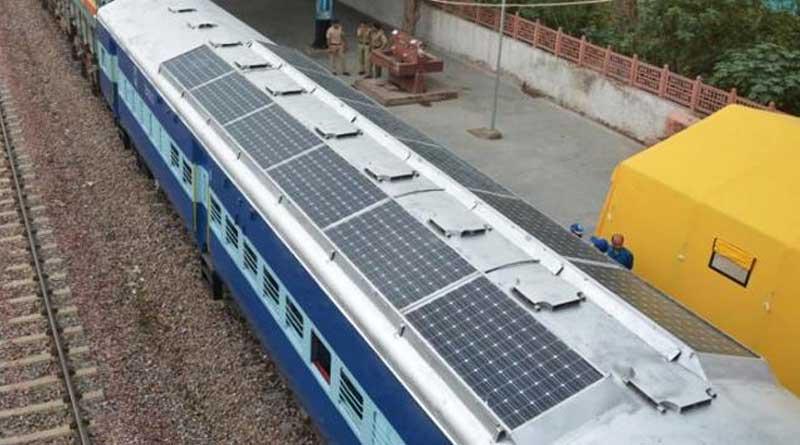 Railways to start trial runs of solar train