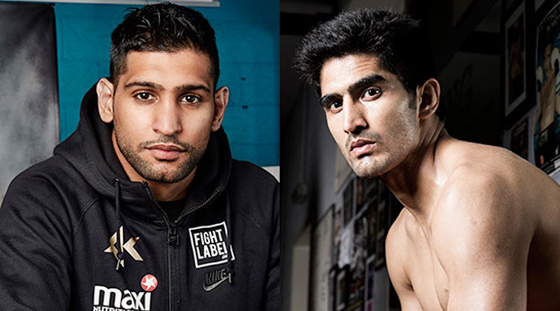 Amir Khan Warns He Will 'Ruin Vijender Singh's Career'